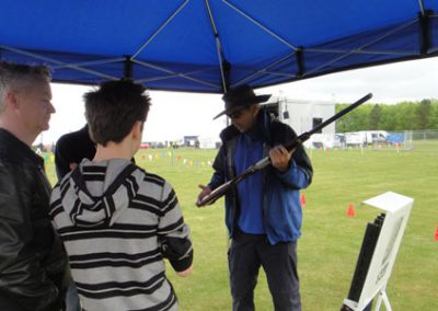 Laser Clay Shooting